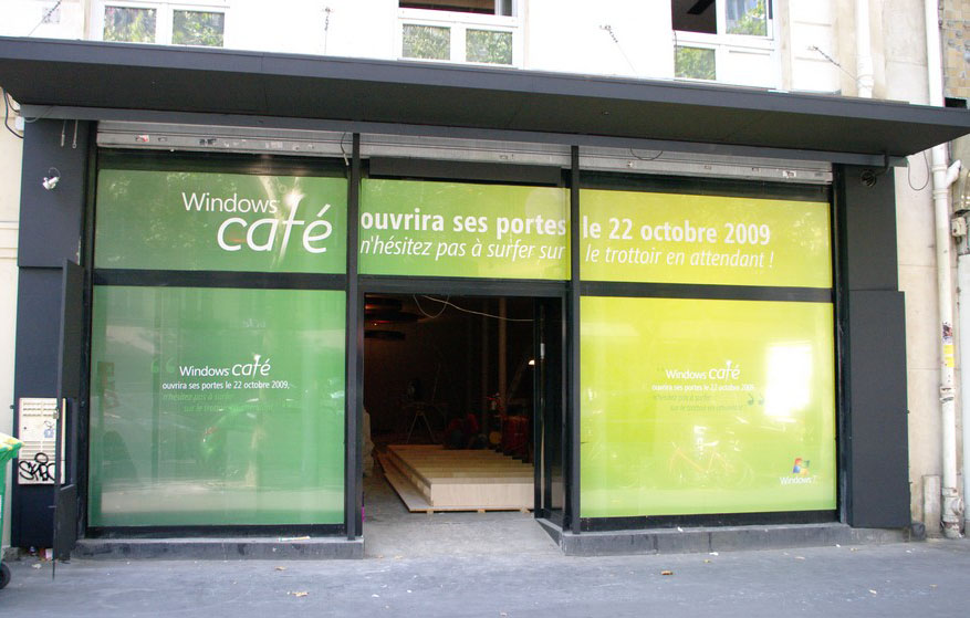Windows Café - Facade